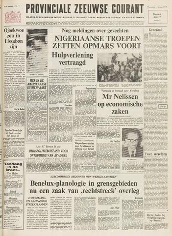 Provinciale Zeeuwse Courant 1970-01-14