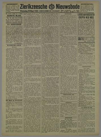 Zierikzeesche Nieuwsbode 1923-03-28