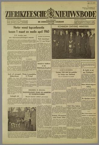 Zierikzeesche Nieuwsbode 1959-11-13