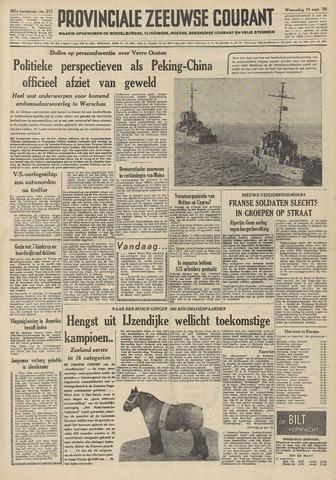 Provinciale Zeeuwse Courant 1958-09-10