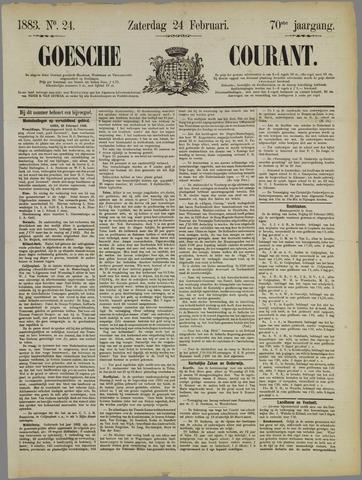 Goessche Courant 1883-02-24