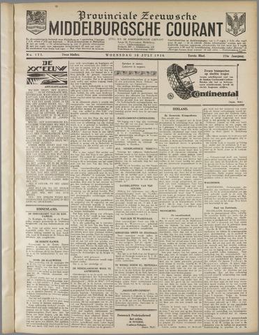 Middelburgsche Courant 1930-07-30
