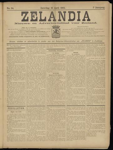 Zelandia. Nieuws-en advertentieblad voor Zeeland | edities: Het Land van Hulst en De Vier Ambachten 1902-04-19