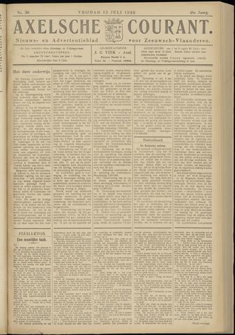 Axelsche Courant 1932-07-15