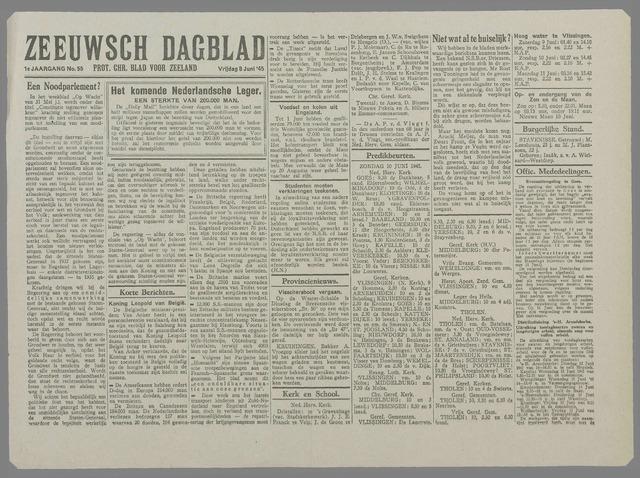 Zeeuwsch Dagblad 1945-06-08
