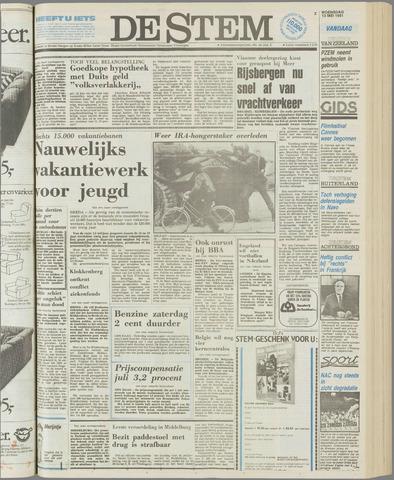 de Stem 1981-05-13