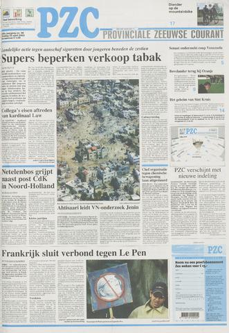 Provinciale Zeeuwse Courant 2002-04-23