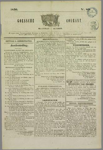 Goessche Courant 1850-10-07