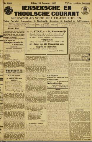 Ierseksche en Thoolsche Courant 1927-12-23