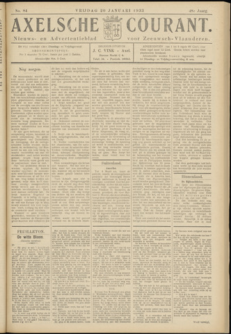 Axelsche Courant 1933-01-20