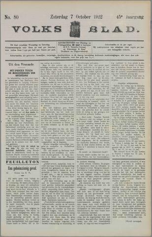 Volksblad 1922-10-07