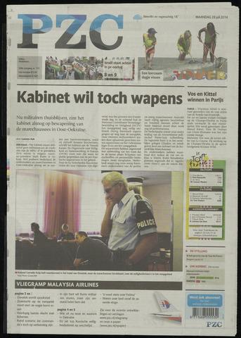 Provinciale Zeeuwse Courant 2014-07-28