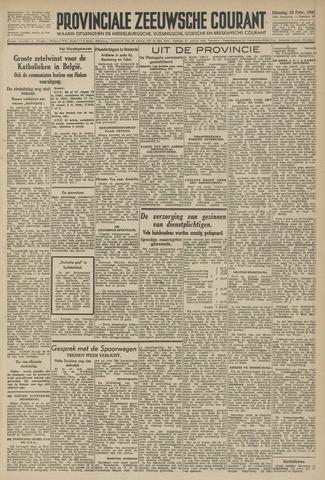 Provinciale Zeeuwse Courant 1946-02-19