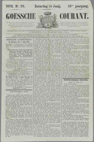 Goessche Courant 1872-06-15