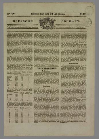 Goessche Courant 1843-08-24