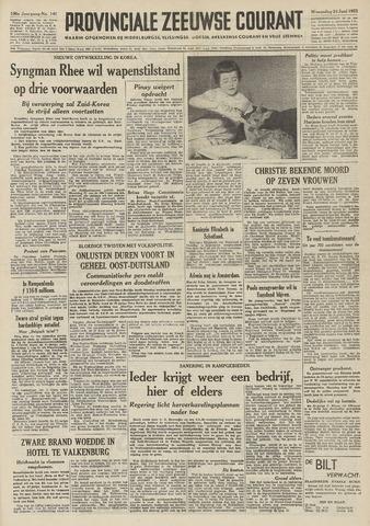 Provinciale Zeeuwse Courant 1953-06-24