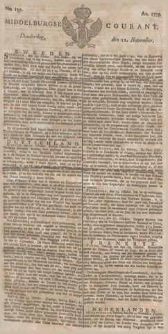 Middelburgsche Courant 1779-11-11