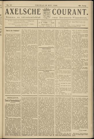 Axelsche Courant 1926-05-28