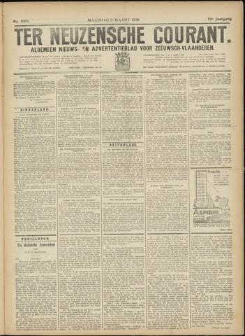 Ter Neuzensche Courant. Algemeen Nieuws- en Advertentieblad voor Zeeuwsch-Vlaanderen / Neuzensche Courant ... (idem) / (Algemeen) nieuws en advertentieblad voor Zeeuwsch-Vlaanderen 1930-03-03