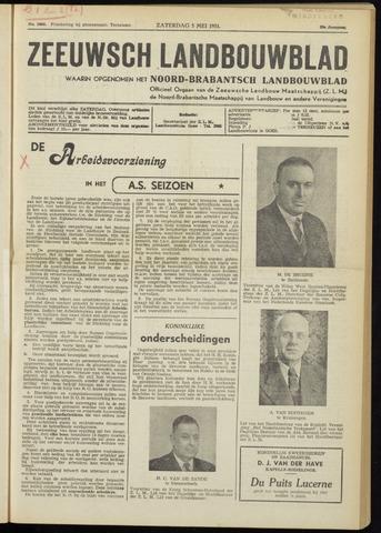 Zeeuwsch landbouwblad ... ZLM land- en tuinbouwblad 1951-05-05