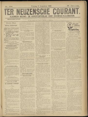 Ter Neuzensche Courant. Algemeen Nieuws- en Advertentieblad voor Zeeuwsch-Vlaanderen / Neuzensche Courant ... (idem) / (Algemeen) nieuws en advertentieblad voor Zeeuwsch-Vlaanderen 1928-08-03
