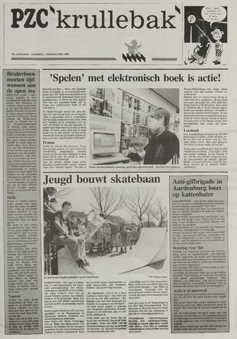 Provinciale Zeeuwse Courant katern Krullenbak (1981-1999) 1995-05-09
