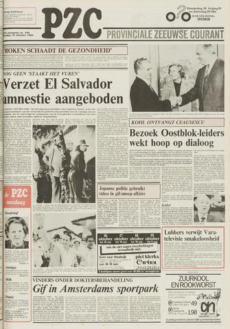 Provinciale Zeeuwse Courant 1984-10-16