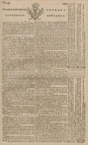 Middelburgsche Courant 1785-04-14
