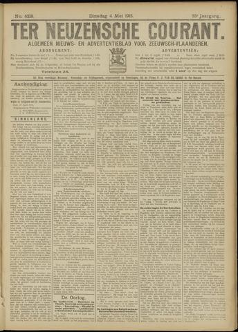 Ter Neuzensche Courant. Algemeen Nieuws- en Advertentieblad voor Zeeuwsch-Vlaanderen / Neuzensche Courant ... (idem) / (Algemeen) nieuws en advertentieblad voor Zeeuwsch-Vlaanderen 1915-05-04