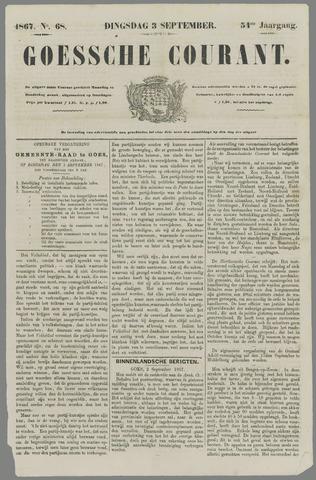 Goessche Courant 1867-09-03