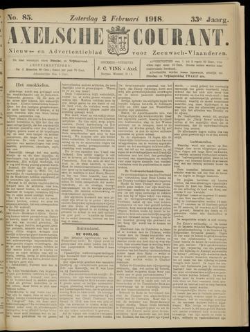 Axelsche Courant 1918-02-02