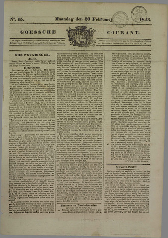 Goessche Courant 1843-02-20