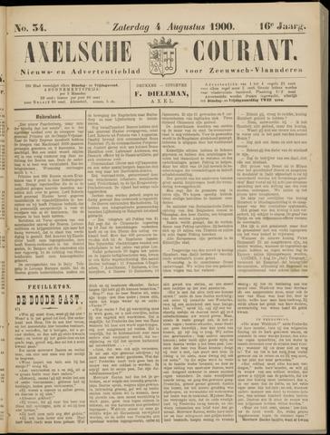 Axelsche Courant 1900-08-04