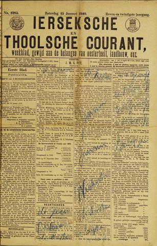 Ierseksche en Thoolsche Courant 1910-01-15