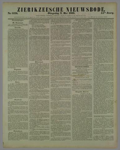 Zierikzeesche Nieuwsbode 1888-05-08