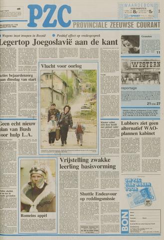 Provinciale Zeeuwse Courant 1992-05-09