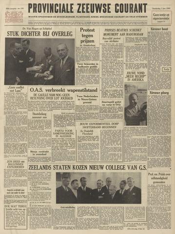 Provinciale Zeeuwse Courant 1962-06-07