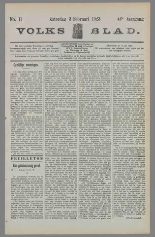 Volksblad 1923-02-03