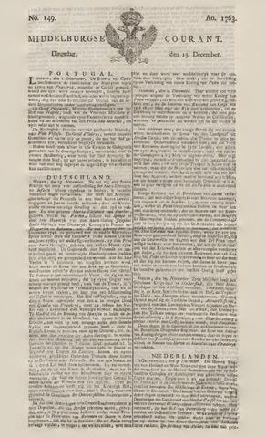 Middelburgsche Courant 1763-12-13