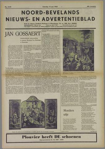 Noord-Bevelands Nieuws- en advertentieblad 1965-06-12