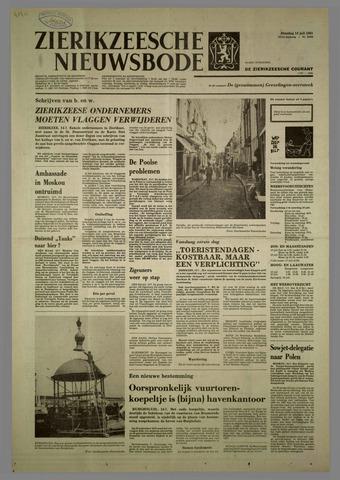 Zierikzeesche Nieuwsbode 1981-07-14