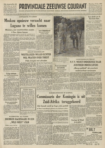Provinciale Zeeuwse Courant 1953-10-19
