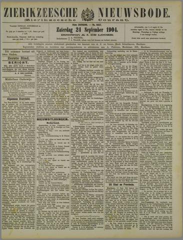 Zierikzeesche Nieuwsbode 1904-09-24