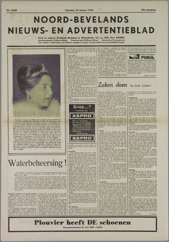 Noord-Bevelands Nieuws- en advertentieblad 1966-01-22