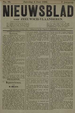 Nieuwsblad voor Zeeuwsch-Vlaanderen 1892-06-04