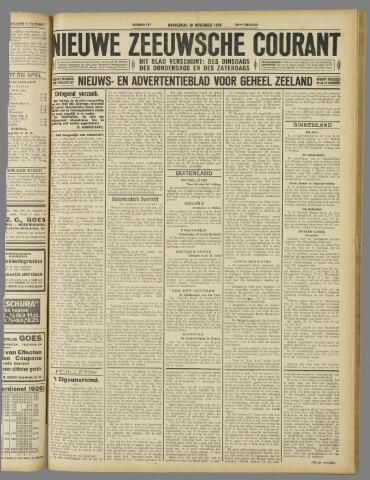 Nieuwe Zeeuwsche Courant 1926-11-18