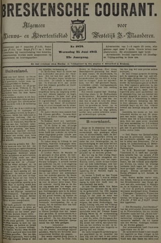 Breskensche Courant 1913-06-25