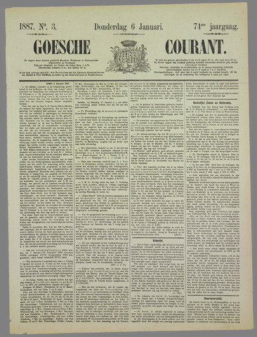 Goessche Courant 1887-01-06