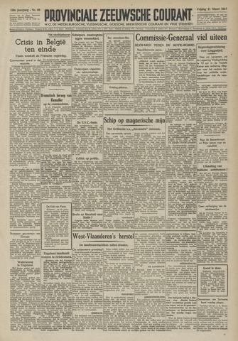 Provinciale Zeeuwse Courant 1947-03-21