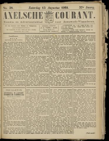 Axelsche Courant 1921-08-13